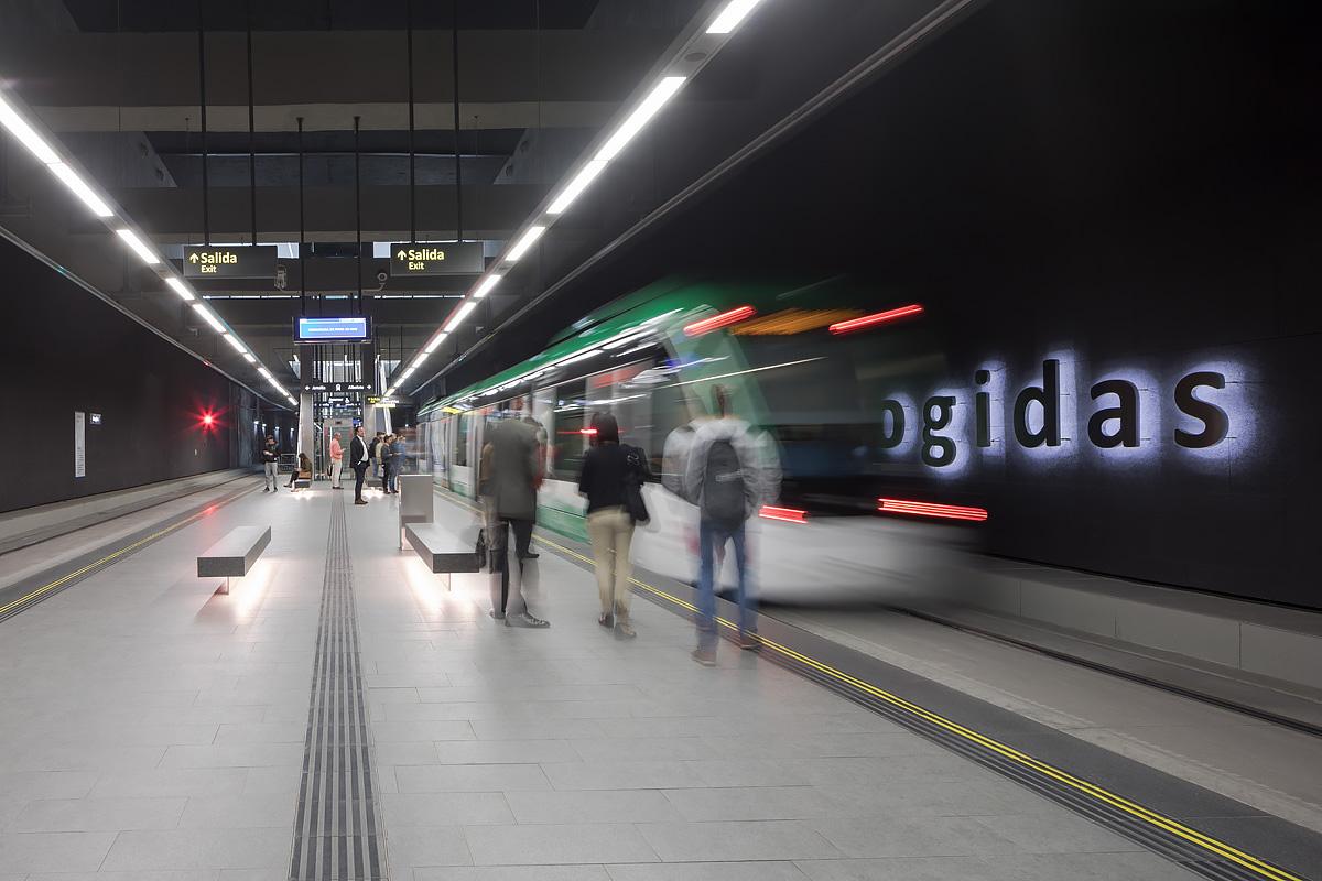 La frecuencia de paso de los trenes será de 9 minutos en hora punta.