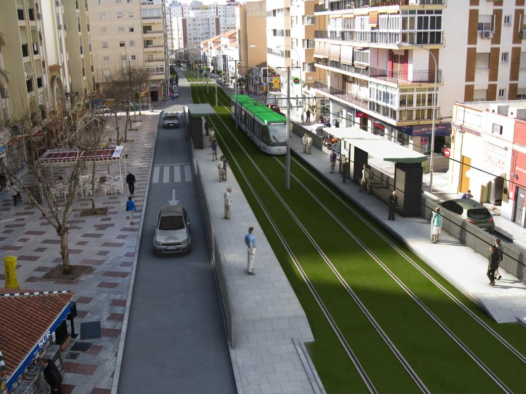 Una infografía muestra cómo quedaría el proyecto de metro al Hospital Civil.