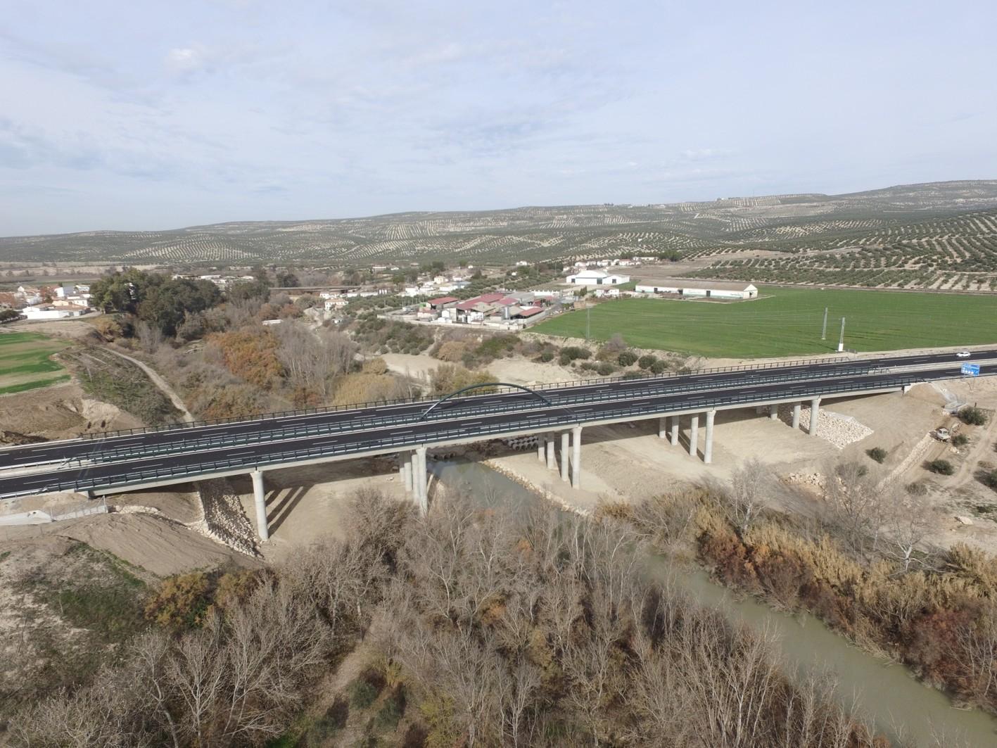 Nuevo viaducto de Puente del Obispo