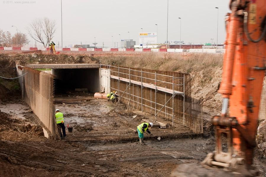 La previsión de fin de obras es para el verano de 2011.