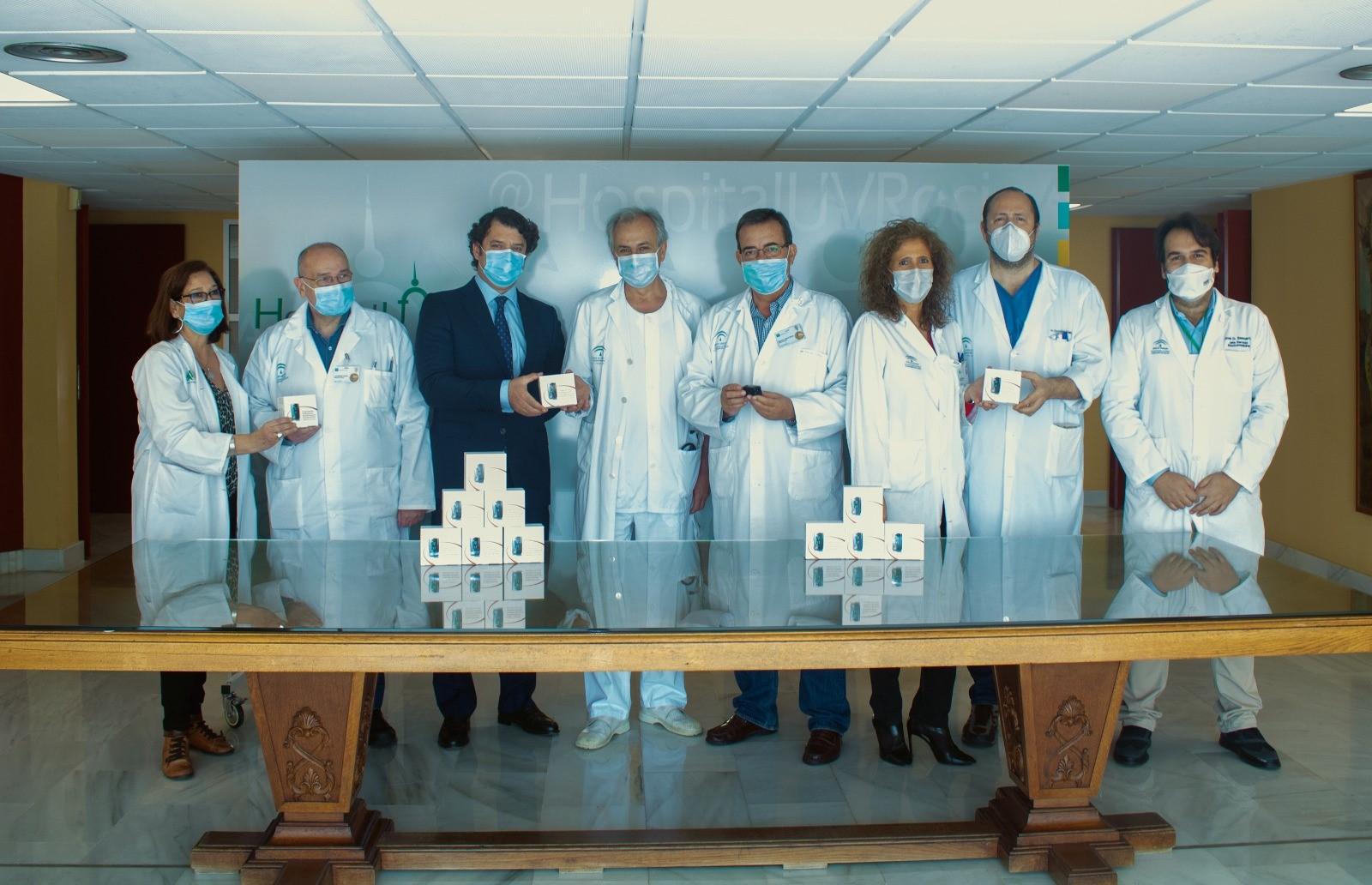 El proyecto Telecovid se lleva a cabo en el Hospital Virgen del Rocío de Sevilla.