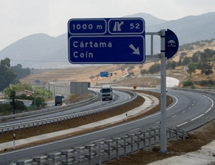 La variante se construirá para dar servicio al tráfico de Coín y Alhaurín el Grande que se dirija a la Autovía del Guadalhorce.