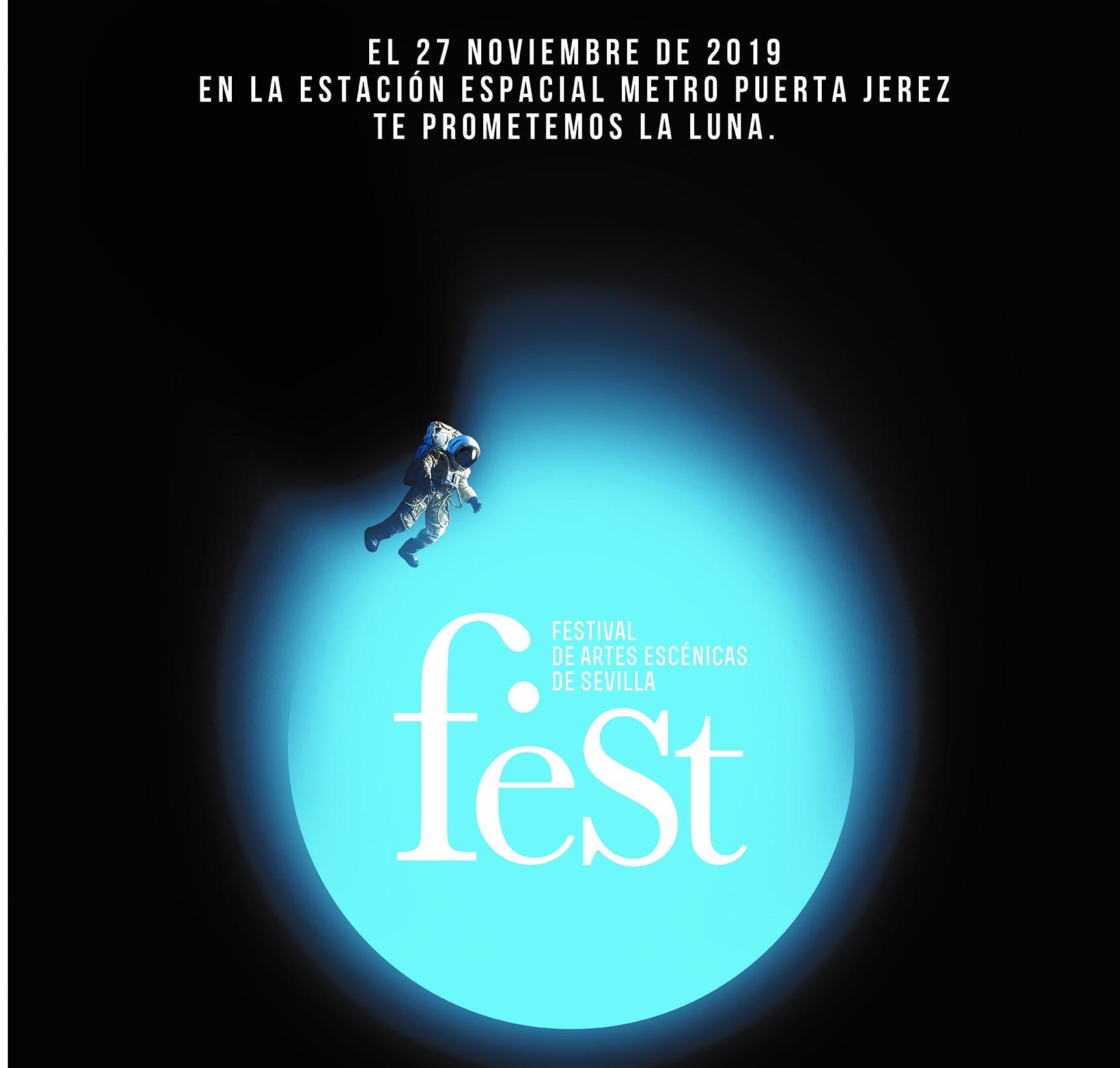 Cartel del Festival de Artes Escénicas de Sevilla 2019