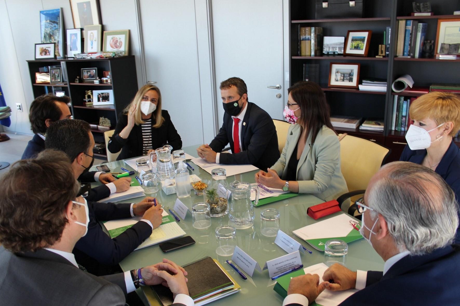 La Junta y el Ayuntamiento de Jaén firmarán el próximo día 23 el nuevo convenio del tranvía