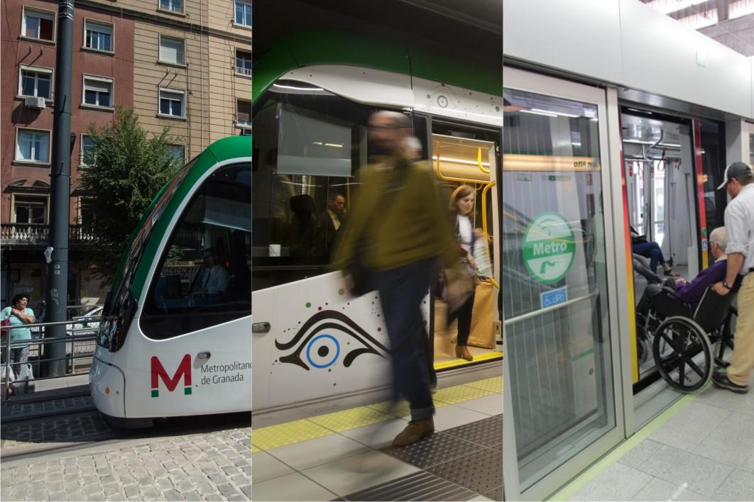La suma de los tres metros andaluces da 24,37 millones de viajeros durante el 2017.