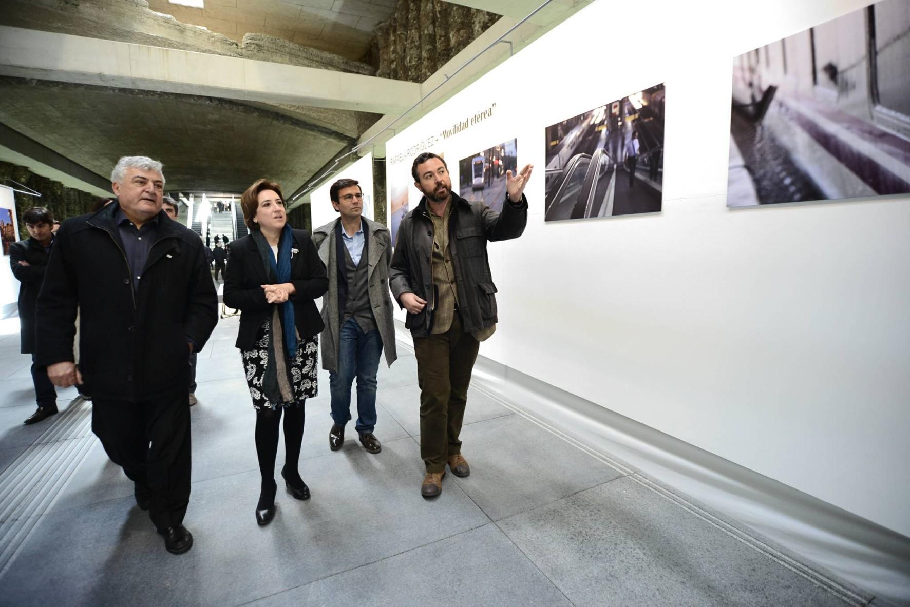 Las autoridades provinciales inauguran la exposición y las jornadas de puertas abiertas en Alcázar Genil.