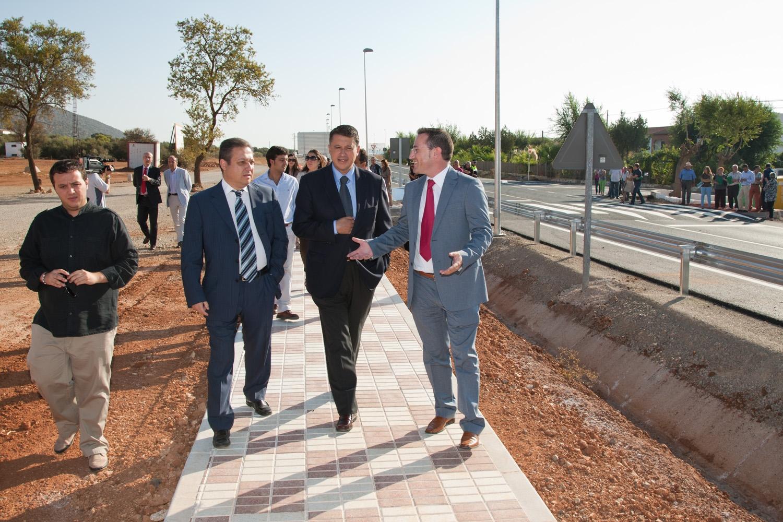 El acondicionamiento de la carretera A-365 entre Sierra de Yeguas y la Roda de Andalucía abarca una longitud de 10 kilómetros
