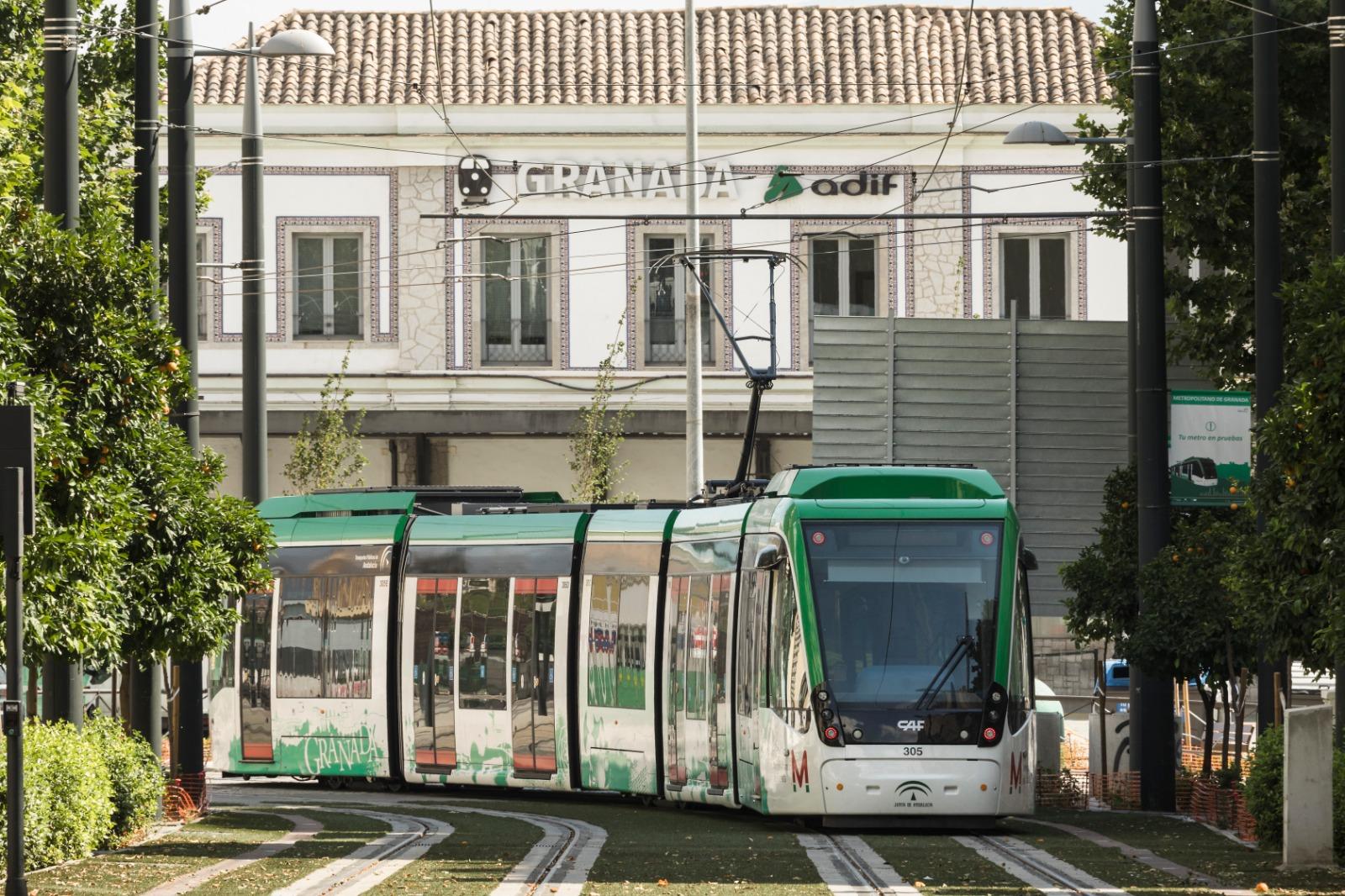 El metro de Granada se ampliará hacia el norte y el sur del área metropolitana.