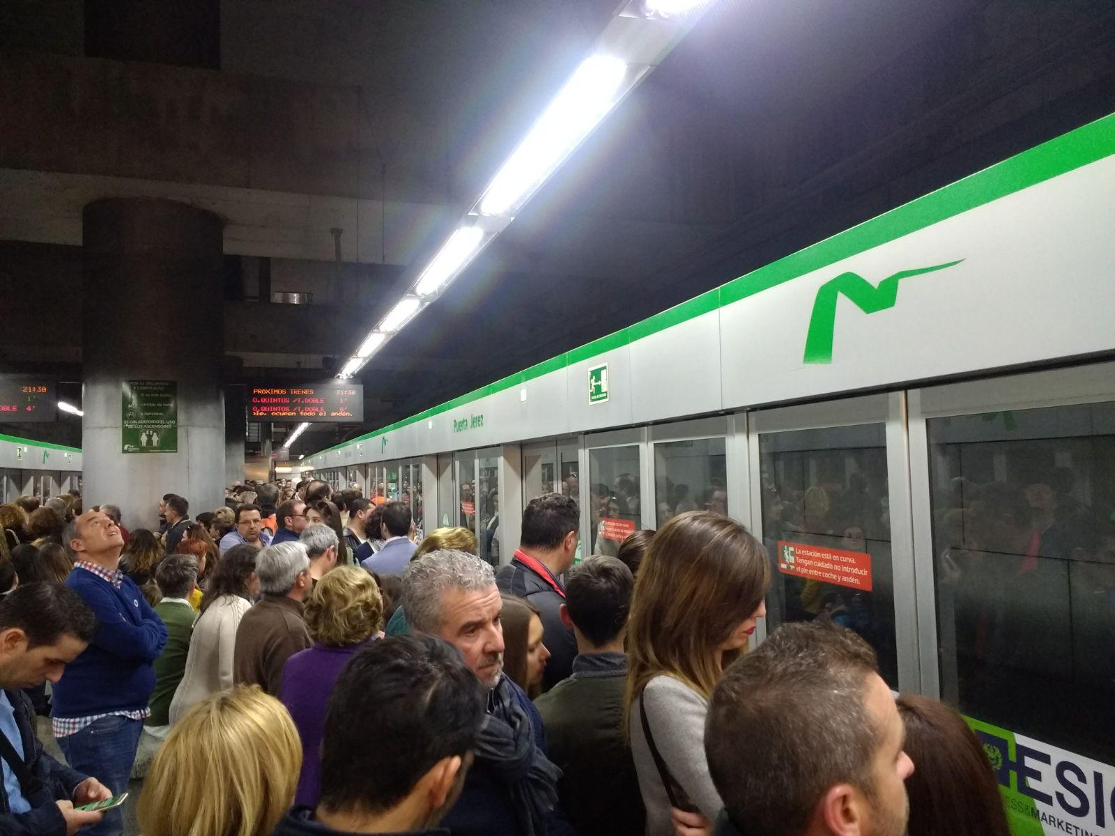 Puerta Jerez lidera la distribución de la demanda de la Línea 1 por estaciones