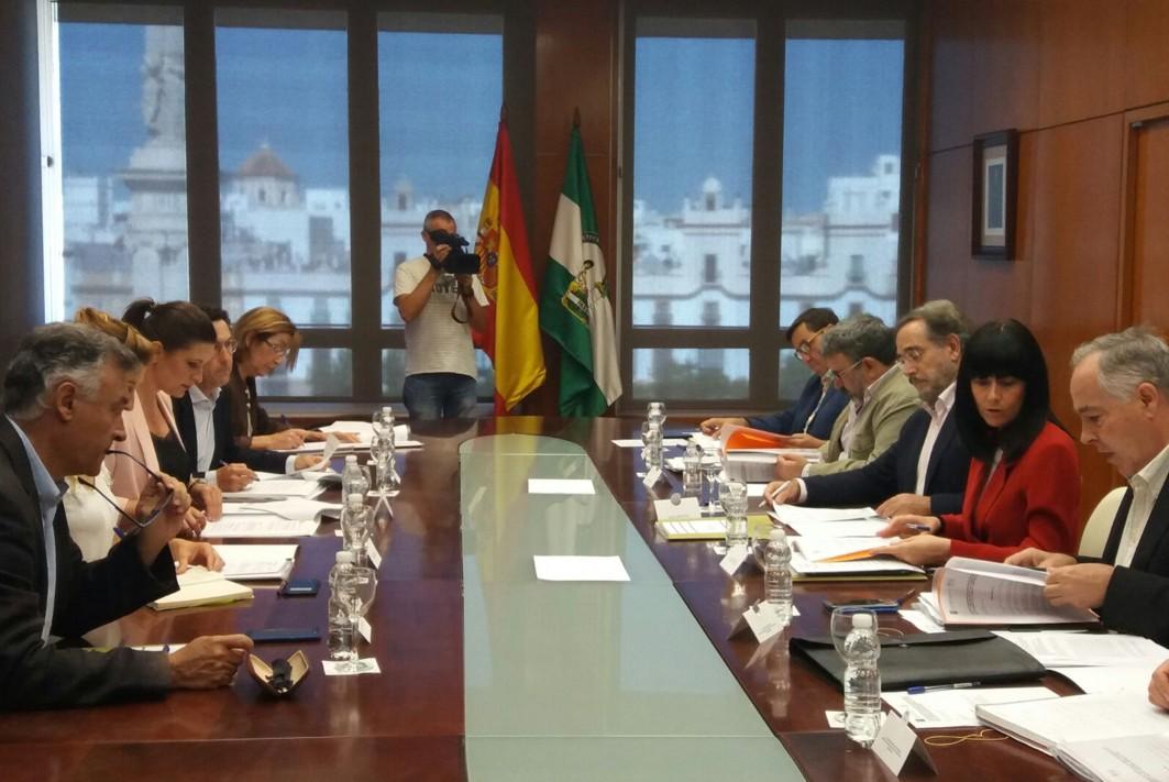 Comisión de seguimiento del tren tranvía de la Bahía de Cádiz.