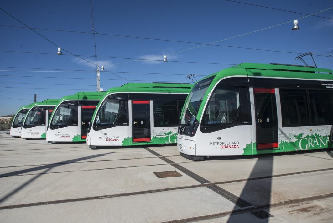 El Metropolitano de Granada aumentará su flota en dos unidades para el 2020.