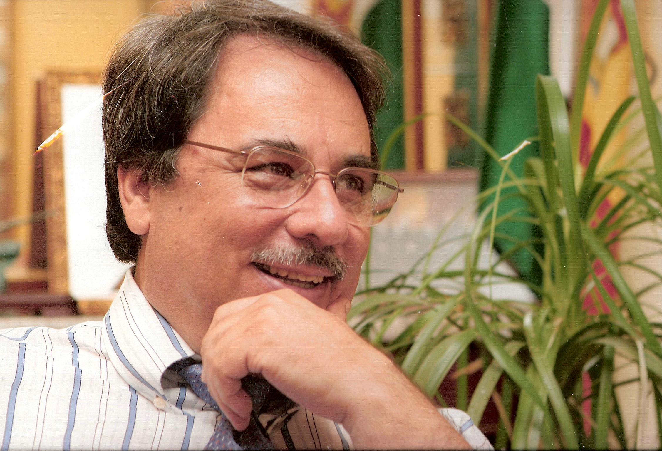 El Consejero Corporativo de GIASA, Eugenio Domínguez.