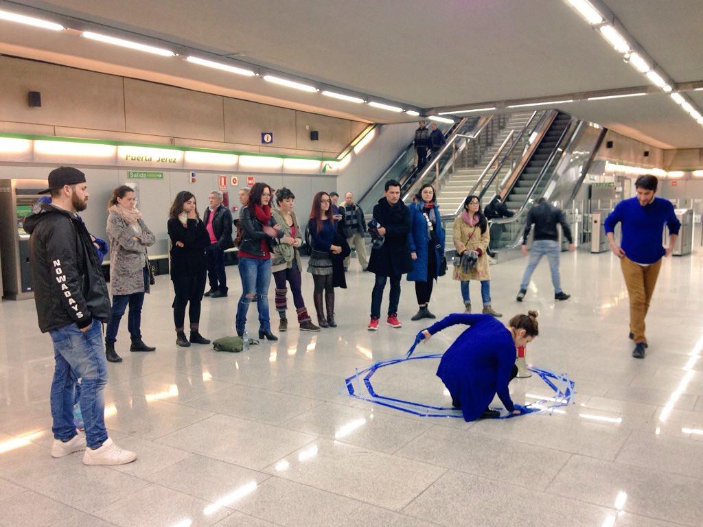 Metro de Sevilla colabora en varios eventos deportivos a lo largo del año.