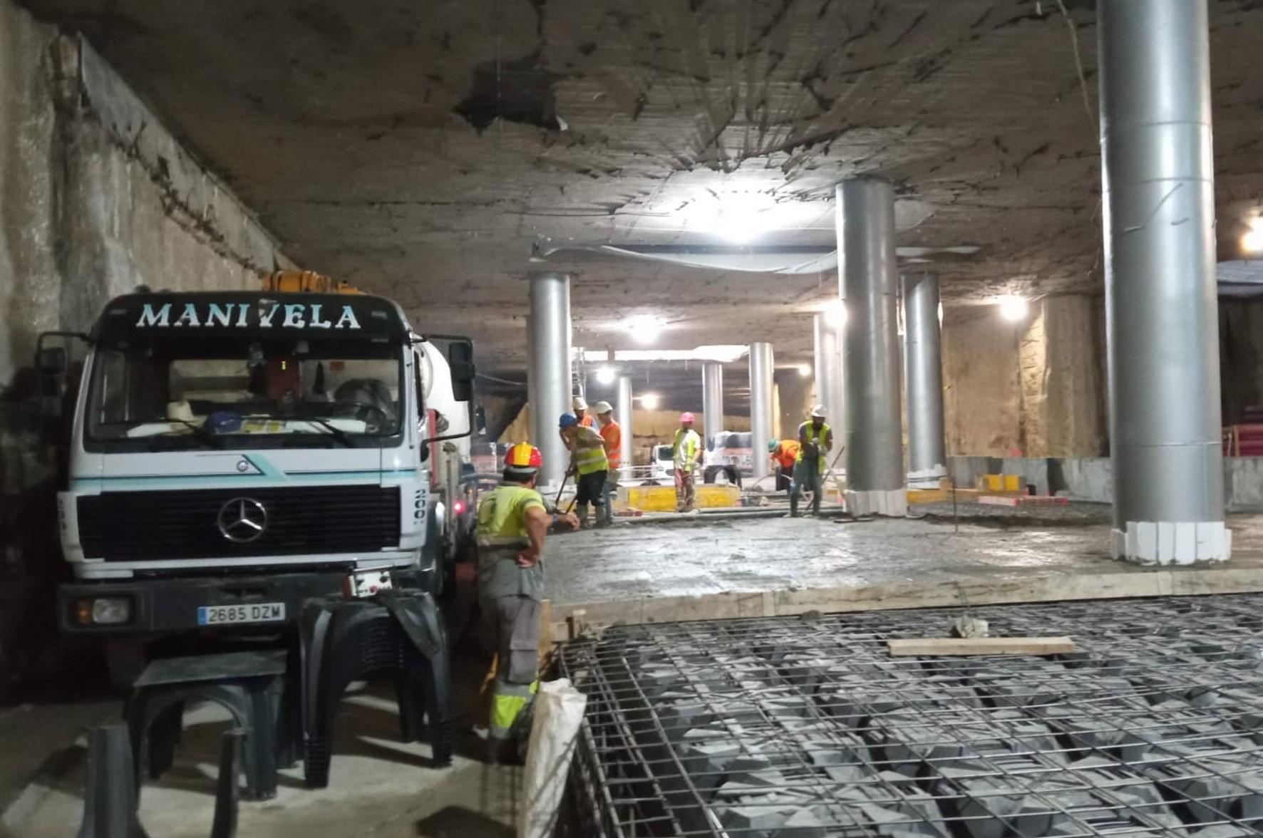 El control de calidad se ejercerá en el túnel del metro de Málaga desde El Perchel a Atarazanas.