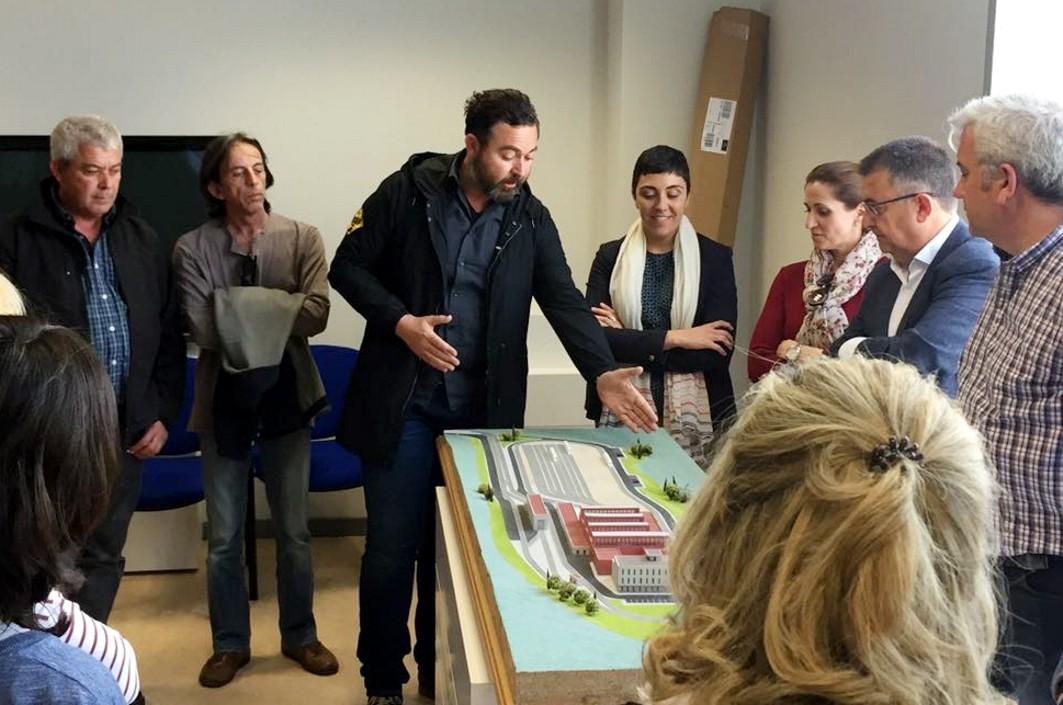 Visita de los técnicos y responsables públicos de Medio Ambiente a Metro de Granada.