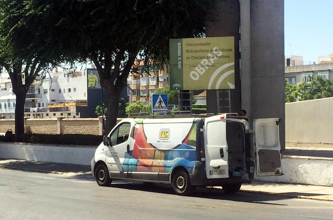 Este intercambiador es una actuación asociada al Tren Tranvía de la Bahía de Cádiz.
