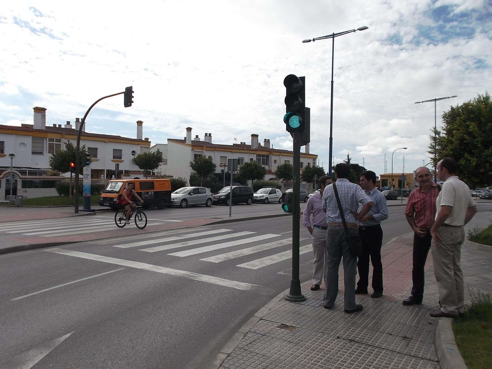 La Venta Vargas es una de las principales salidas y entradas a San Fernando del tráfico rodado.