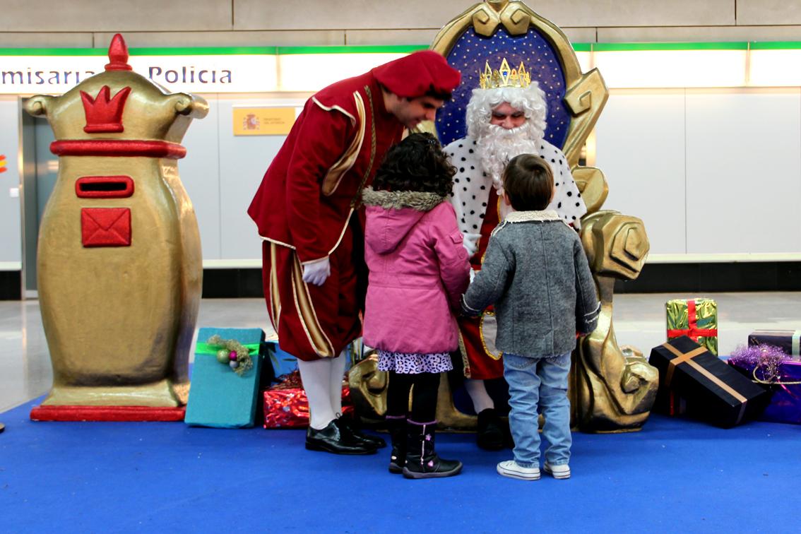 Actividades navideñas en la Estación Puerta Jerez.
