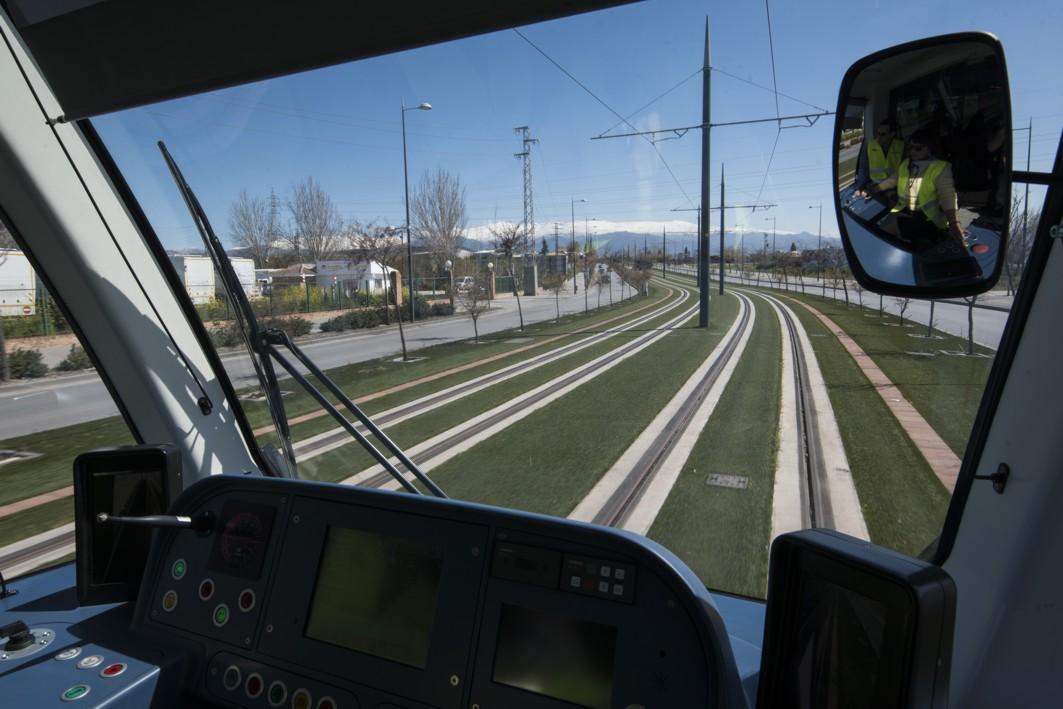 El metro recorre en pruebas los 16 kms de su trayectoria.