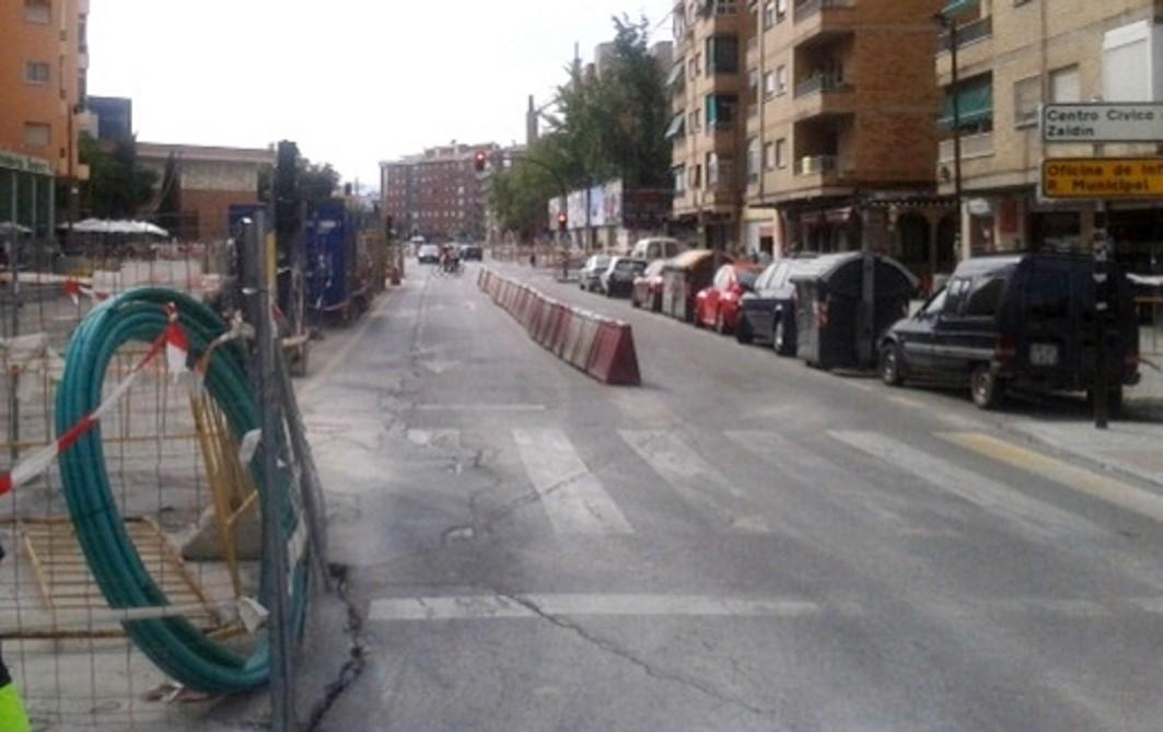 Los trabajos en la margen izquierda de la calle Andrés Segovia están a punto de finalizar.