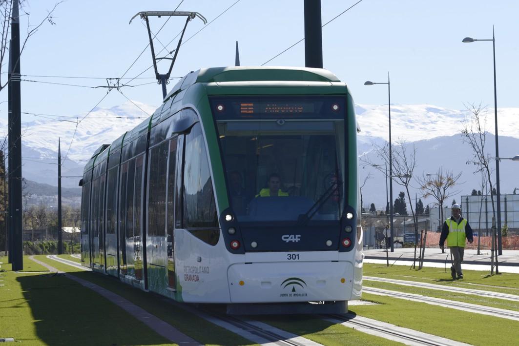 Las tarifas del metro de Granada se decidirán en la antesala de su puesta en servicio.