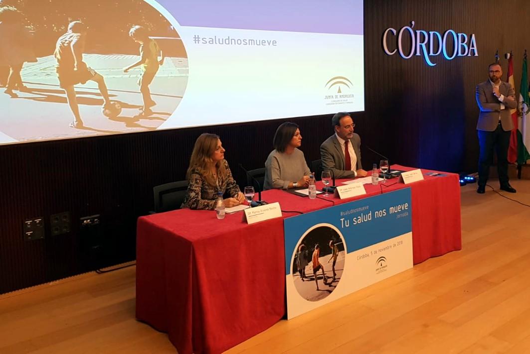 Jornadas sobre Movilidad y Salud celebradas en Córdoba.