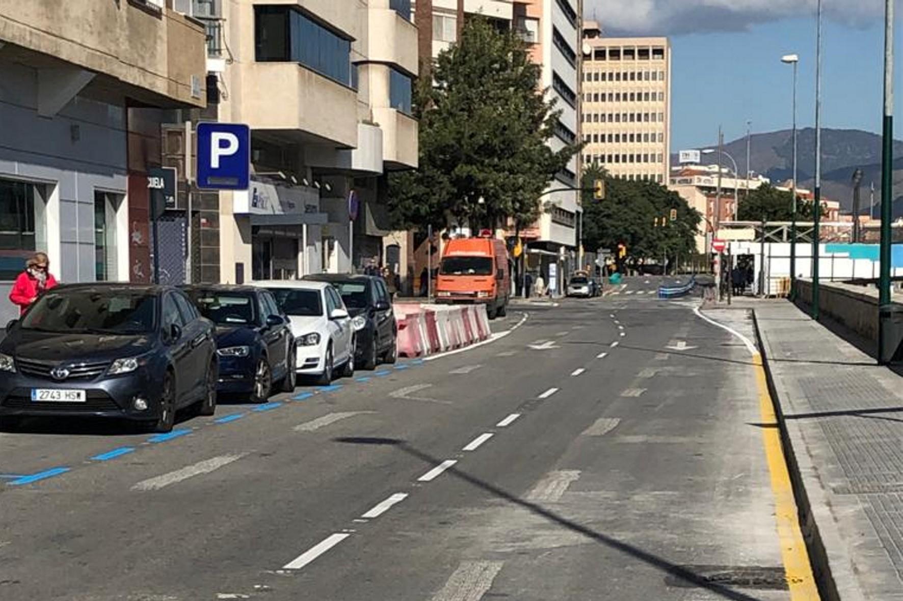 El pasillo del Matadero en Málaga.