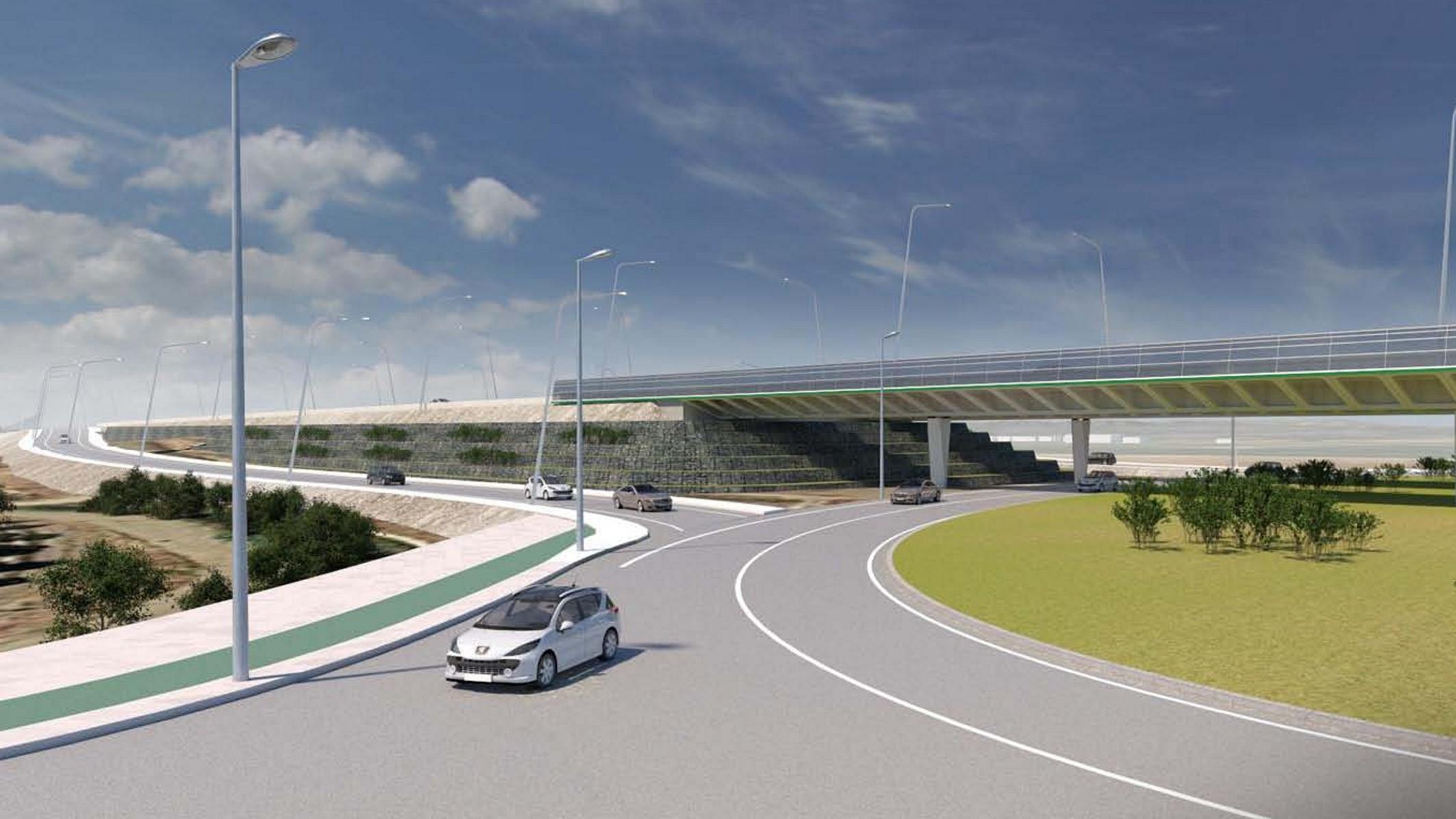 El nuevo viaducto mejora la accesibilidad en la zona norte del área metropolitana.