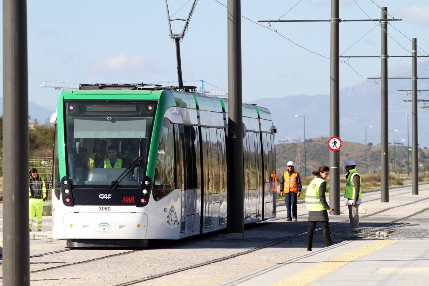 Estas pruebas de Metro de Málaga en superficie serán las primeras realizadas con los sistemas semafóricos operativos y coordinándose con el tráfico rodado.