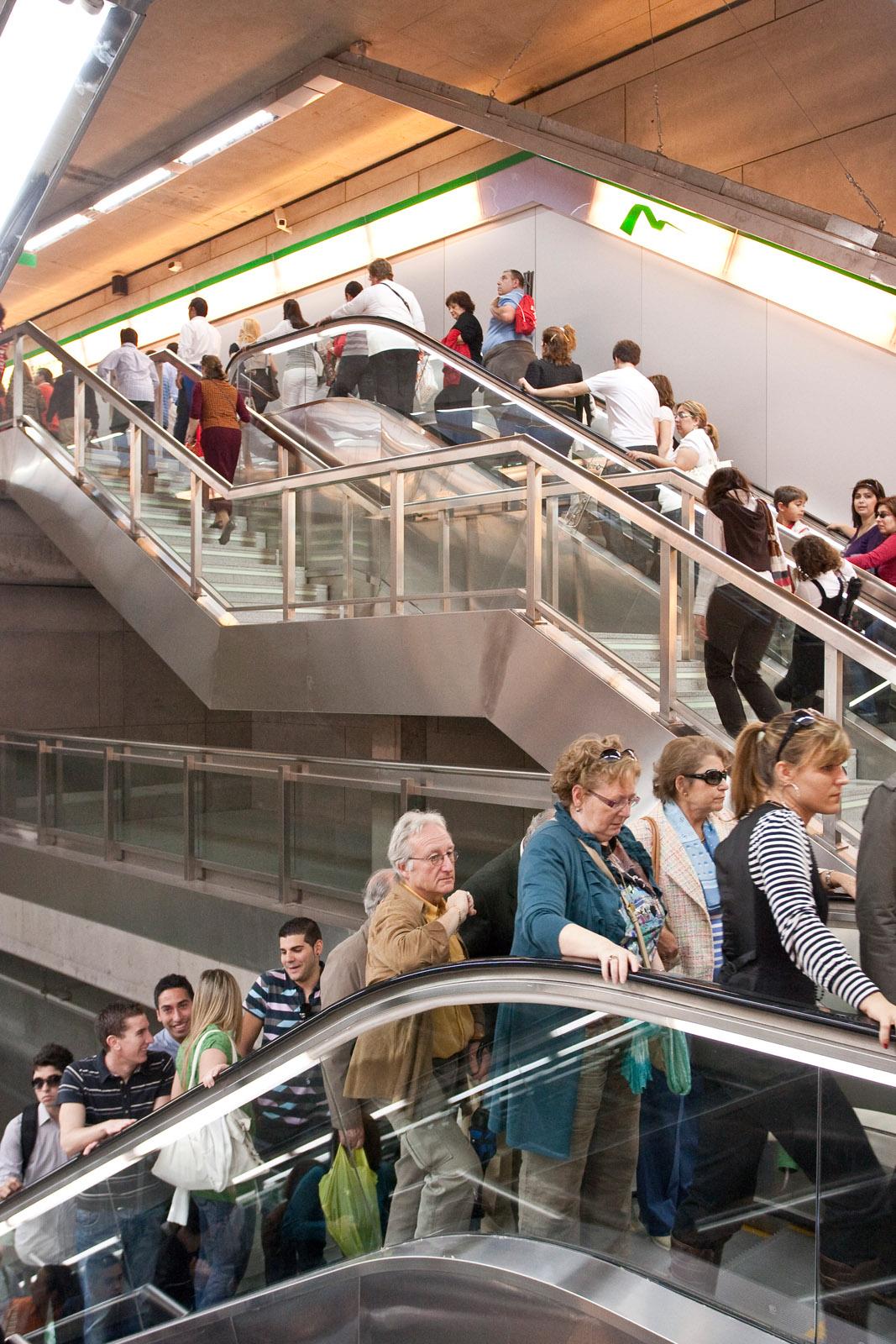 El promedio de pasajeros en días laborables supera los 50.000 usuarios