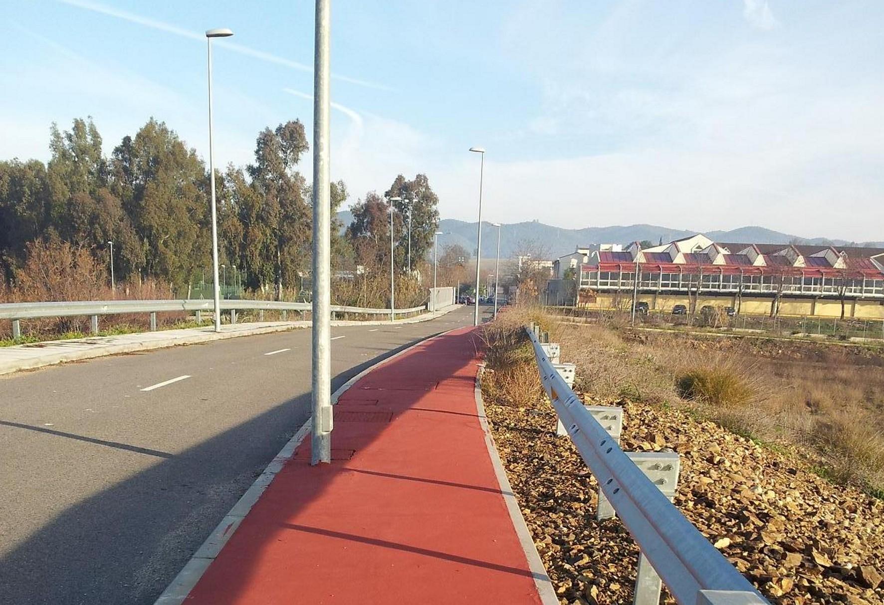 La nueva vía ciclista aprovechará la infraestructura existente a Rabanales.